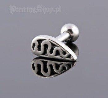 kolczyk piercing do ucha UPPER EAR TRIBAL [TIP-34]
