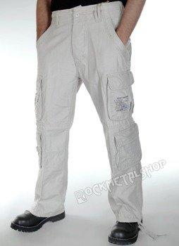 spodnie bojówki PURE VINTAGE old white