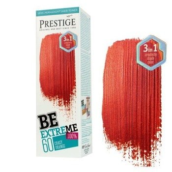toner do włosów BeEXTREME PRESTIGE - CRAZY ORANGE