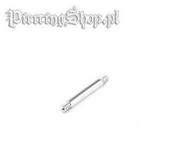 PRĘCIK PROSTY BARBELL grubość 1,6mm (BL-PIN)