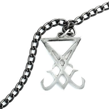 wisior + łańcuch SIGIL OF LUCIFER