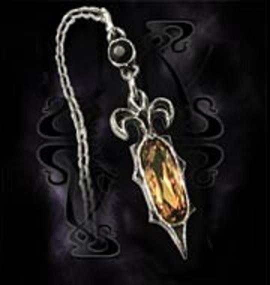 kolczyk Crypt Ear Chain E233 firma Alchemy Gothic