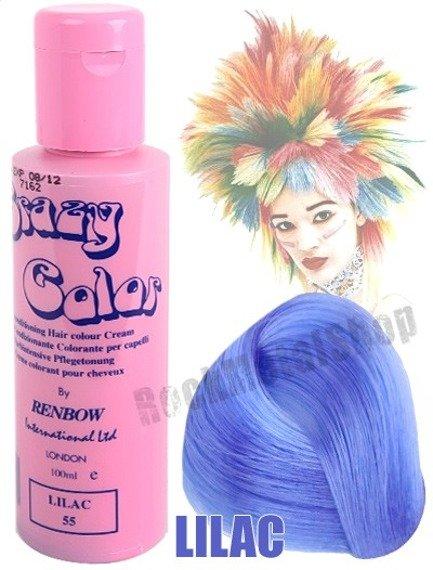 toner do włosów CRAZY COLOR - LILAC [055]